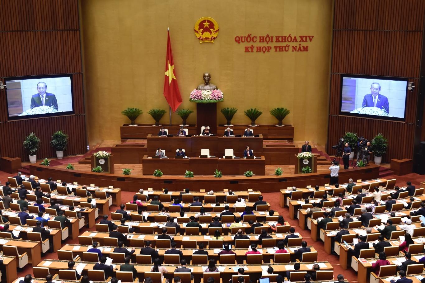 Chương trình xây dựng luật, pháp lệnh năm 2019