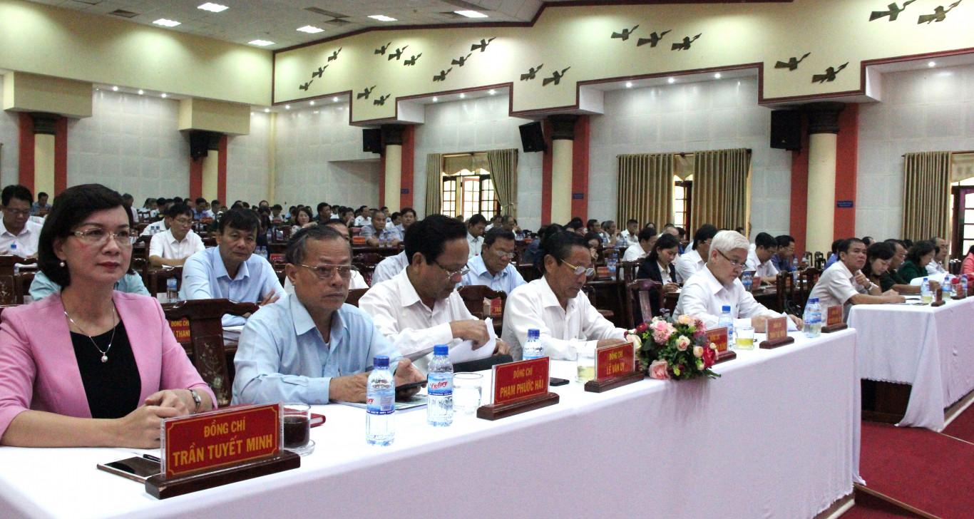 Tỉnh ủy triển khai Chỉ thị 35 của Bộ Chính trị về đại hội đảng bộ các cấp