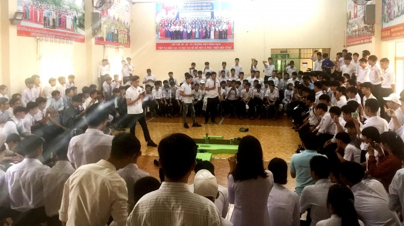 Tập huấn triển khai Luật thi đấu Cuộc thi sáng tạo Robocon mini tỉnh Bình Phước
