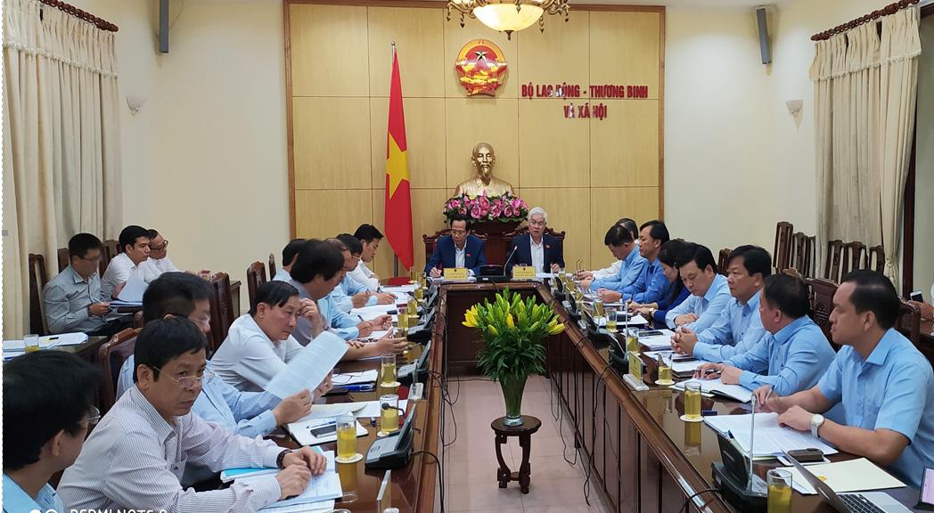Bí thư Tỉnh ủy làm việc với Bộ Lao động - Thương binh và Xã hội
