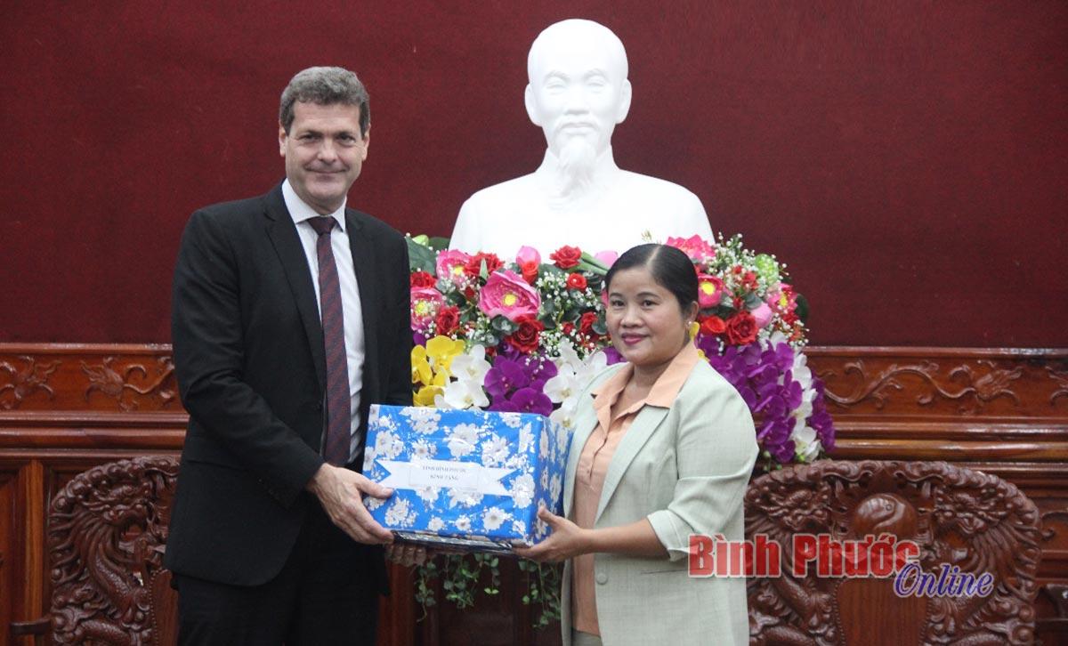 Chủ tịch UBND tỉnh tiếp đoàn chuyên gia Ngân hàng phát triển Châu Á