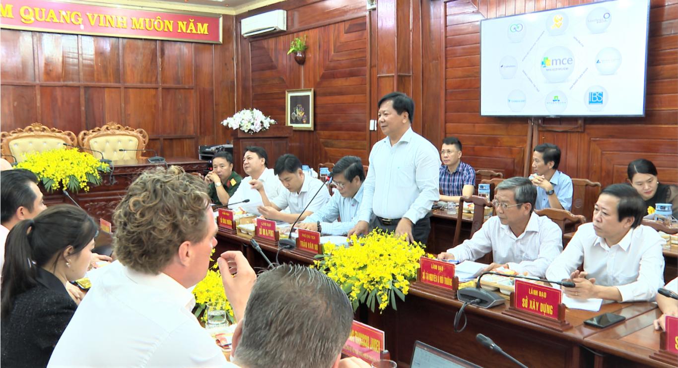 Tập đoàn MCE đề nghị thực hiện tổ hợp dự án sản xuất, xây dựng thương hiệu hạt điều Bình Phước