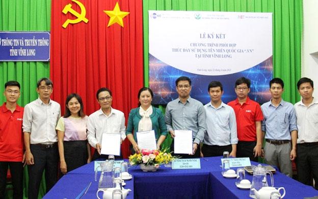 """Khai trương điểm đăng ký tên miền quốc gia """".vn"""" thứ hai"""