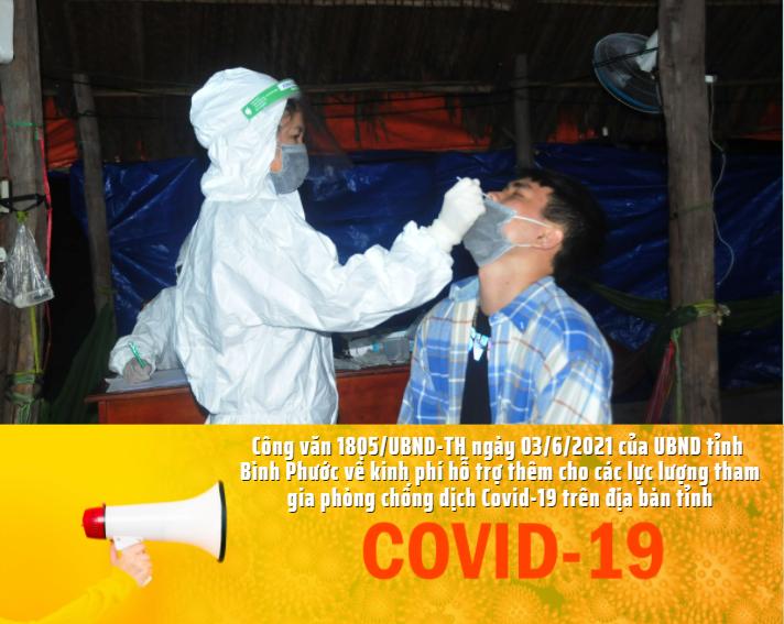 Hỗ trợ thêm chế độ phụ cấp cho các lực lượng tham gia phòng chống dịch Covid-19