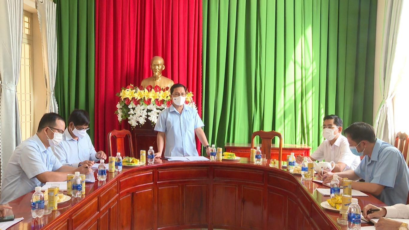 Giám sát thực hiện Nghị quyết 05 tại thị trấn Chơn Thành