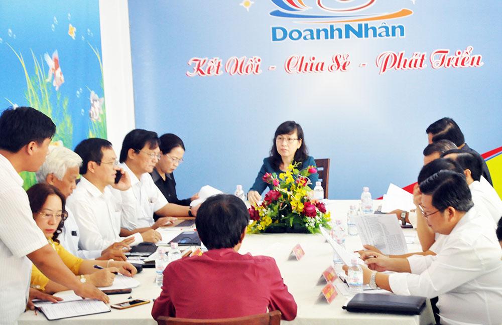 Thông báo kết luận tại buổi tiếp doanh nghiệp ngày 02/8/2018 của lãnh đạo UBND tỉnh