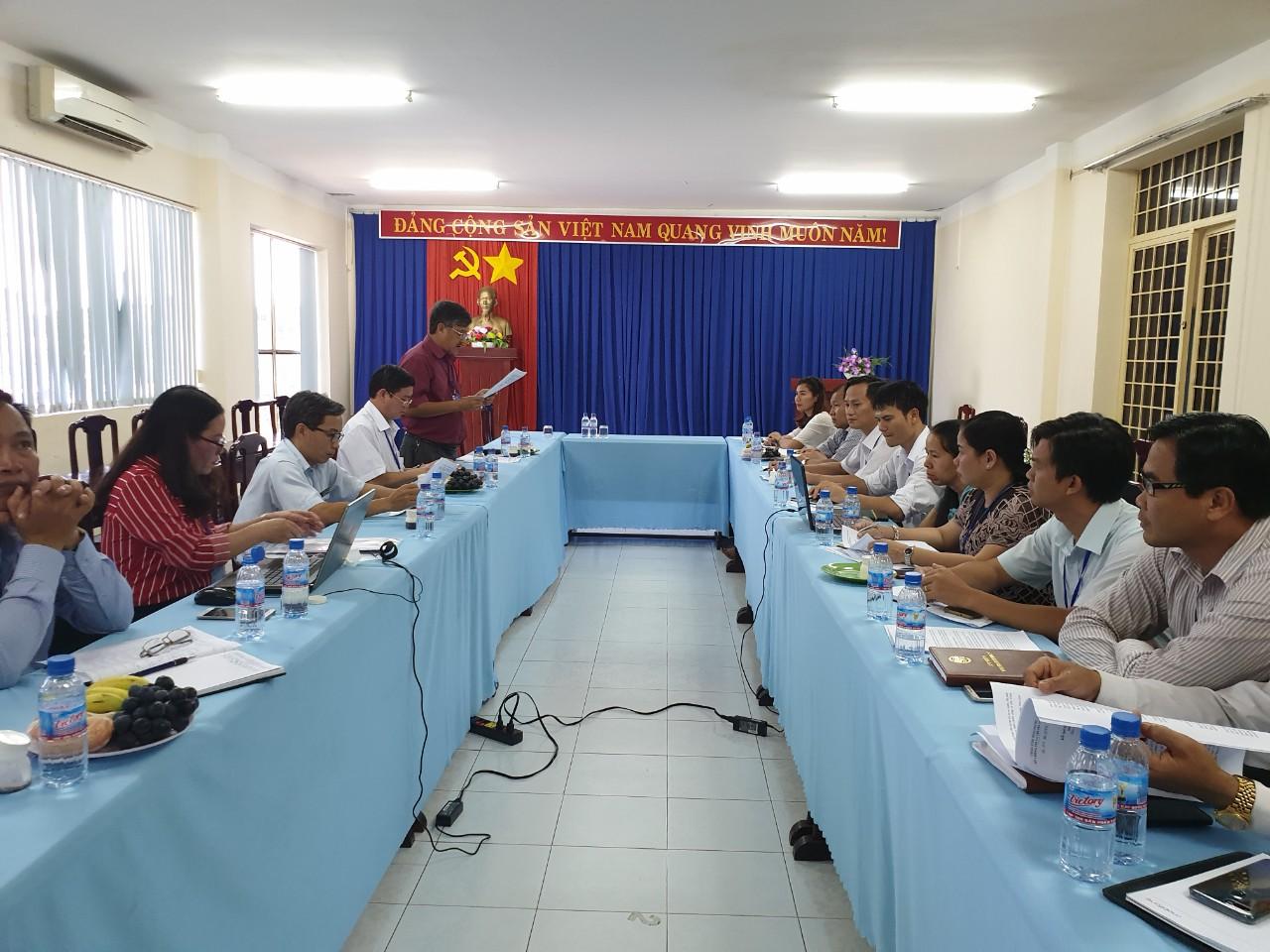 Sở Thông tin và Truyền thông tiếp Đoàn kiểm tra cải cách hành chính tỉnh