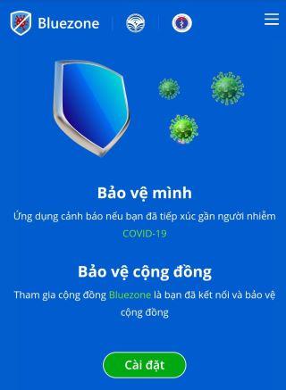 Triển khai cài đặt và sử dụng ứng dụng Bluezone